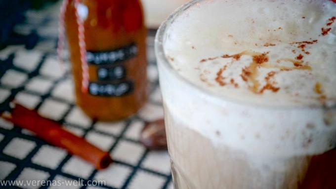 Pumpkin Pie Sirup - z.B. für Pumpkin Spiced Lattes wie bei Starbucks <3