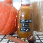 Pumpkin Pie Sirup