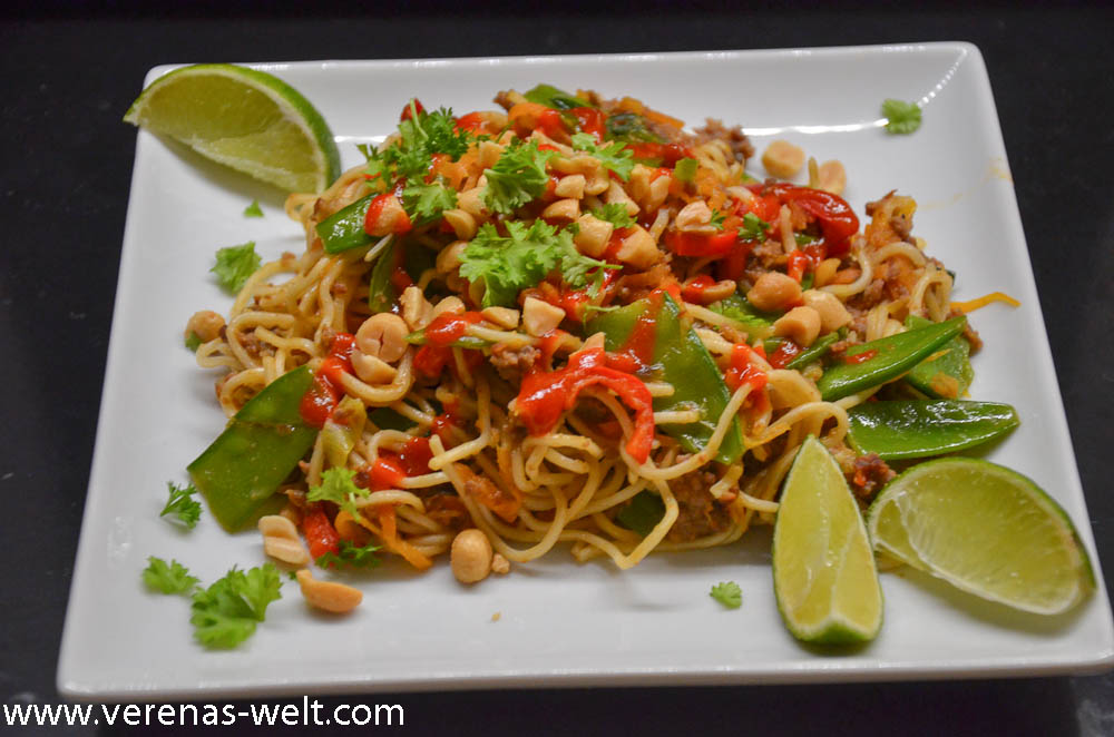 Beef Satay Noodles