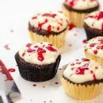 Halloween-Cupcakes: Dexters Splatter Cupcakes
