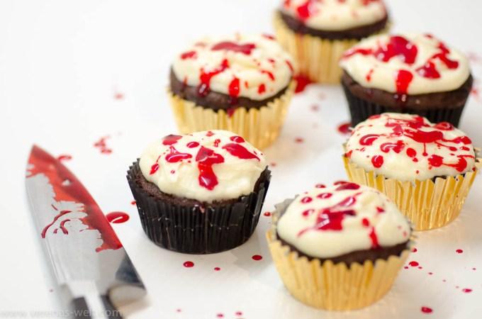 Dexters Splatter Cupcakes
