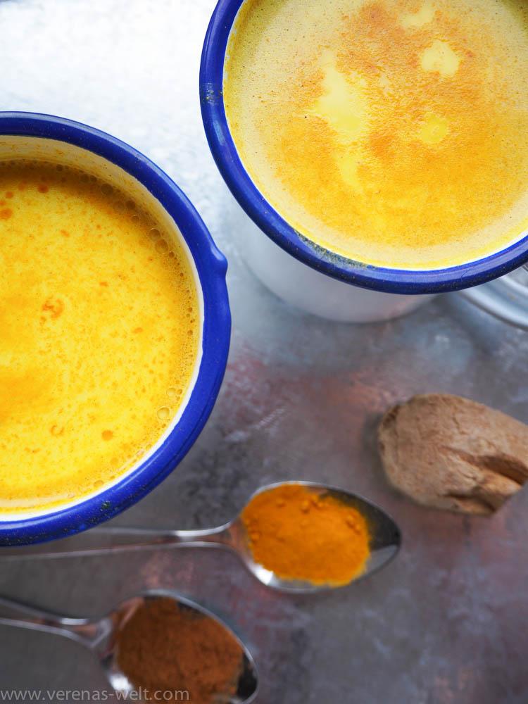 Goldene Milch - Kurkuma Latte