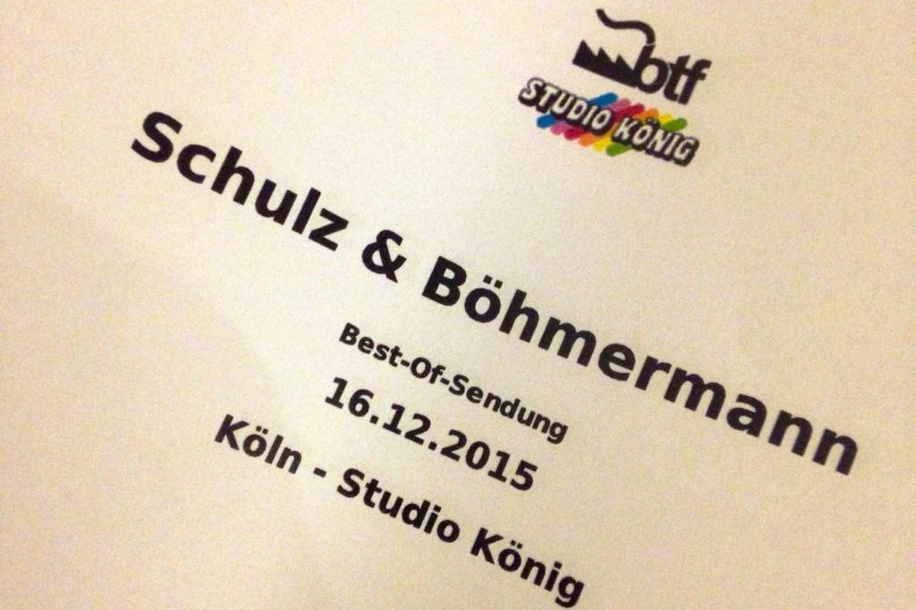 Verena bei Schulz & Böhmermann 2015