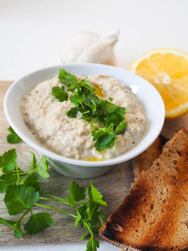 Arabischer Auberginen-Dip: Baba Ghanoush