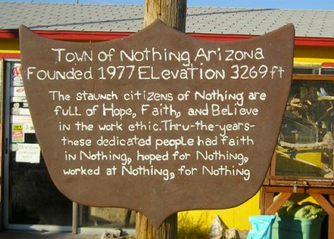 Nothing, Arizona
