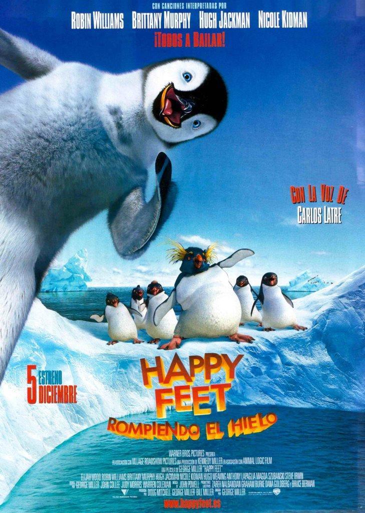 Happy Feet: Rompiendo el hielo
