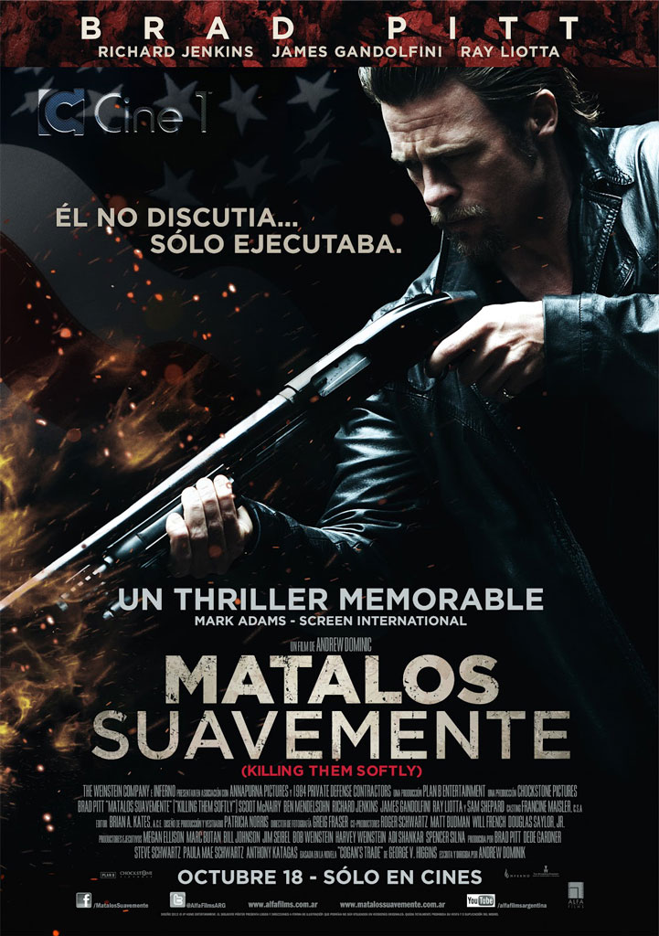 Mátalos suavemente (2012) BDRip 1080p Latino