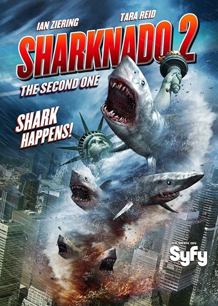 Sharknado 2: El segundo (El regreso) (2014) DVD-Rip Castellano
