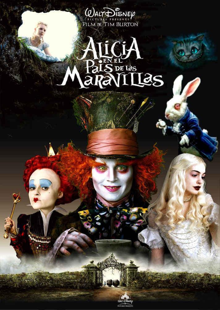 Alicia en el país de las maravillas (2010) HD 1080p Latino