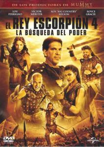 El rey escorpión 4: La búsqueda del poder (2015) HD 1080p Latino