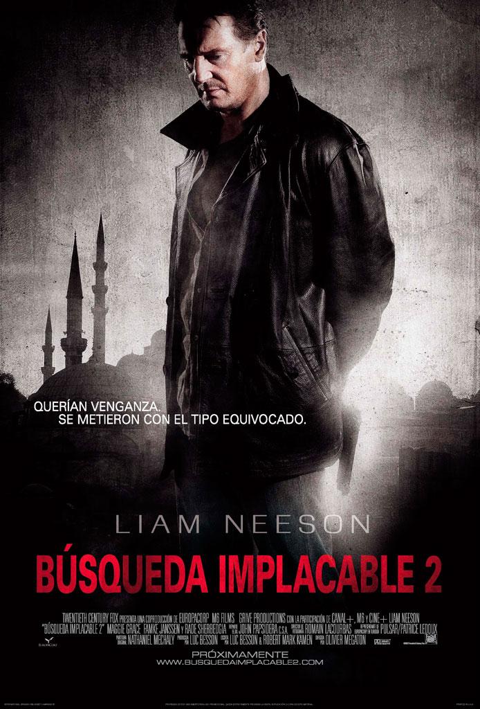 Búsqueda implacable 2 (2012) HD 1080p Latino
