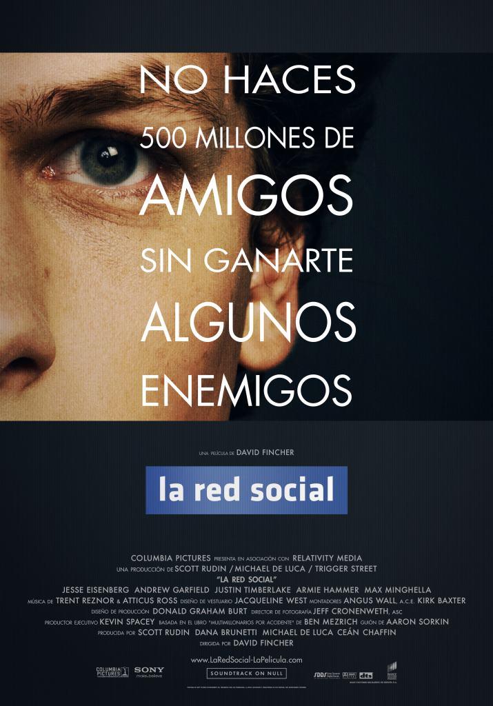 La red social (2010) HD 1080p Latino