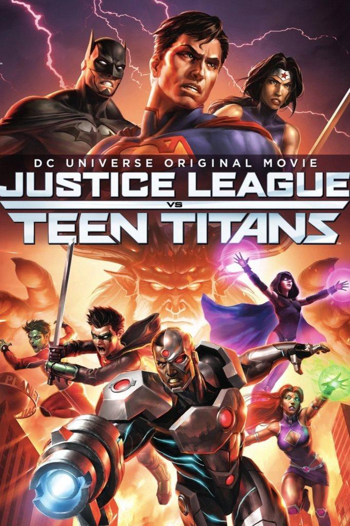 La Liga de la Justicia contra los Jóvenes Titanes (2016) HD 1080p Latino