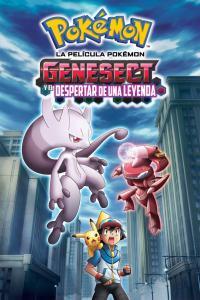 Pokémon 16: Genesect y el despertar de una leyenda (2013) DVD-Rip Latino