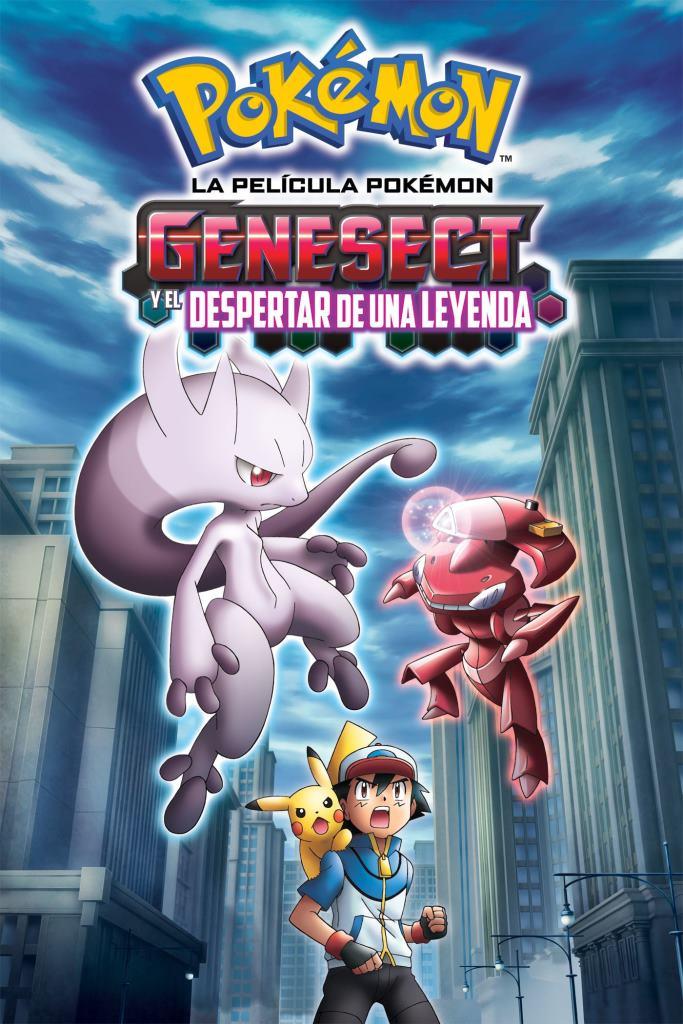 Pokémon 16: Genesect y el despertar de una leyenda