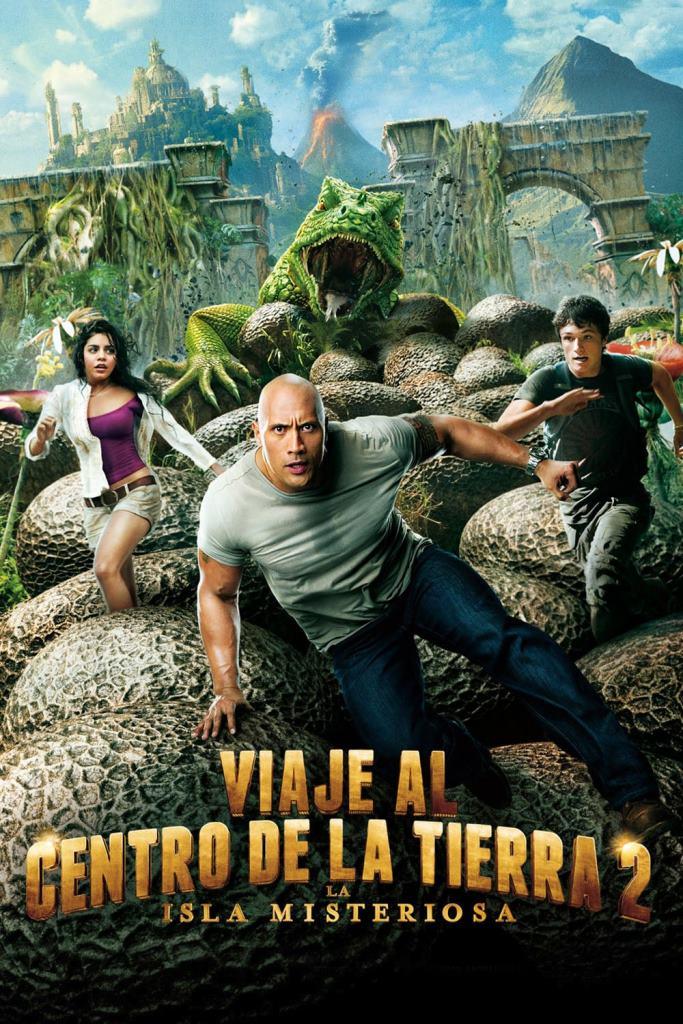 Viaje al centro de la Tierra 2: La isla misteriosa (2012) HD 1080p Latino