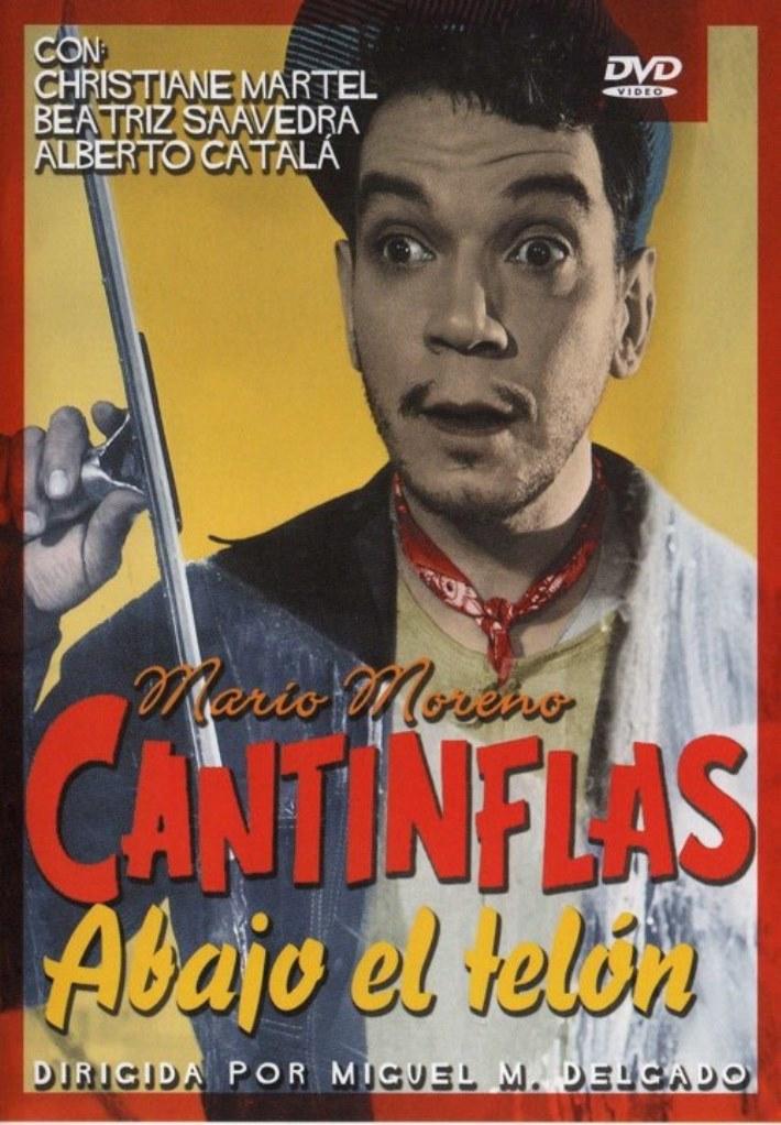 Cantinflas Abajo el telón