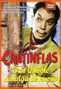 Cantinflas Don Quijote cabalga de nuevo