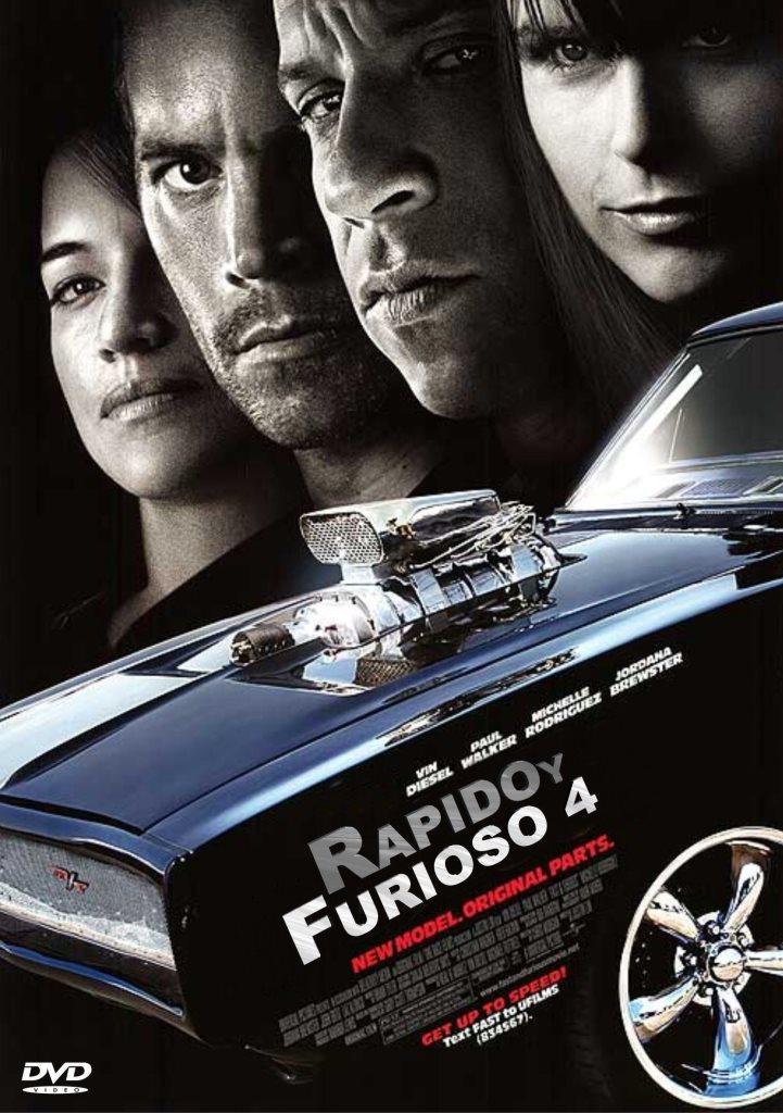 Rápidos y Furiosos 4: Aún más rápido (2009) HD 1080p Latino