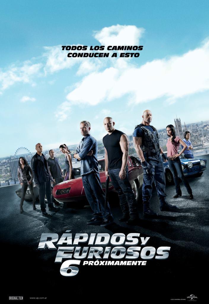 Rápidos y Furiosos 6 (2013) HD 1080p Latino