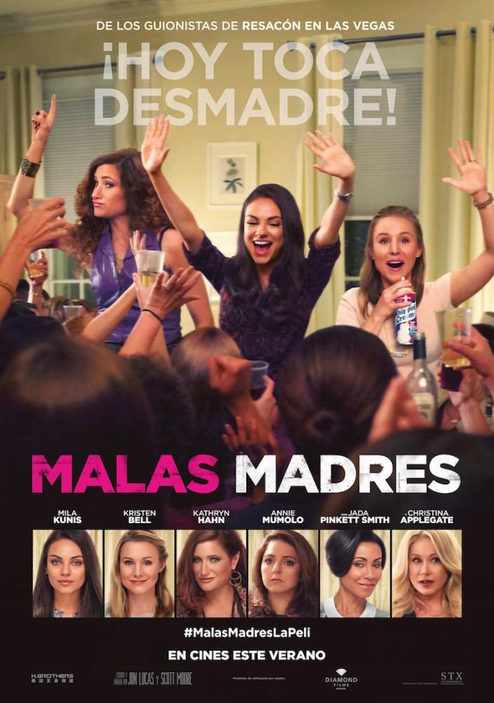Malas madres (2016) HD 1080p Latino