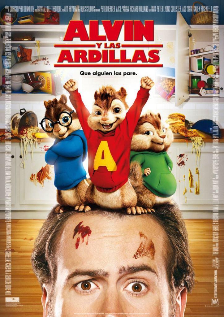 Alvin y las ardillas (2007) HD 1080p Latino