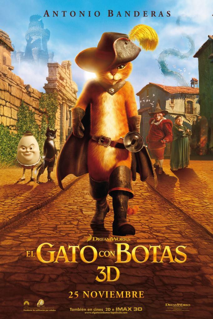 El gato con botas (2011) HD 1080p Latino