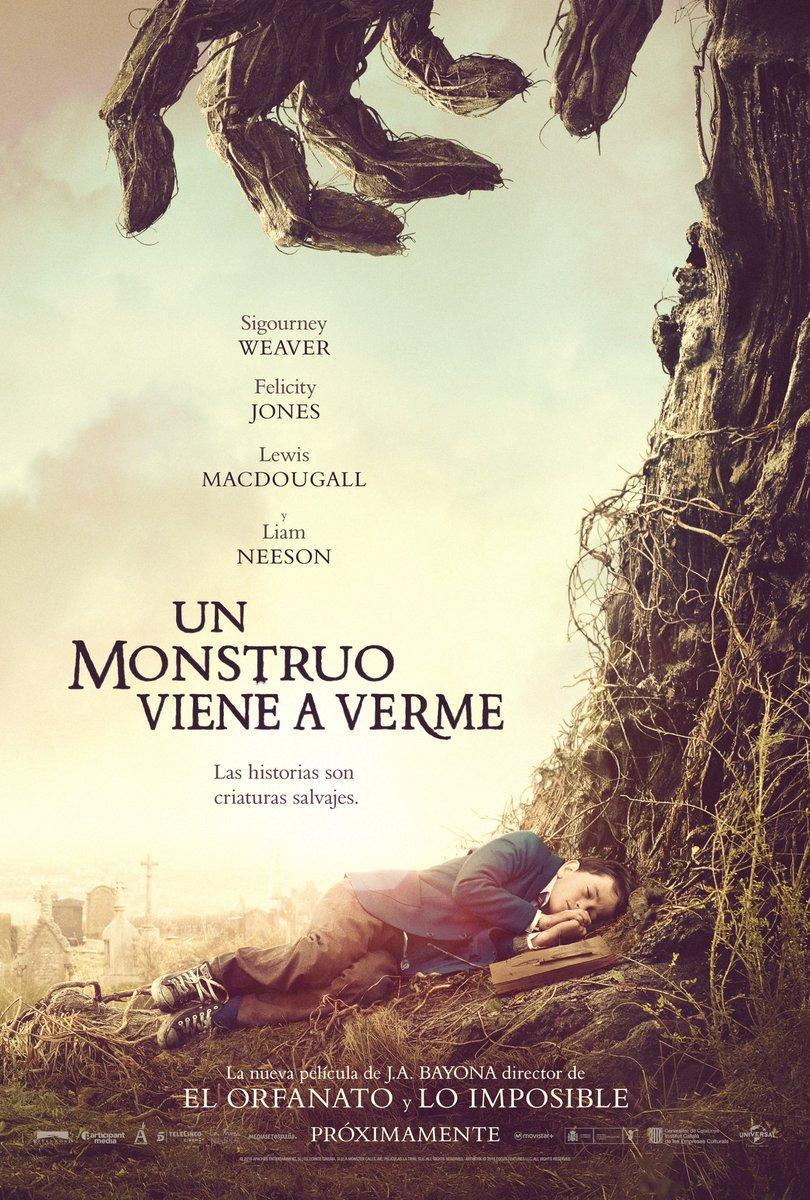 Un monstruo viene a verme (2016) HD 1080p Latino