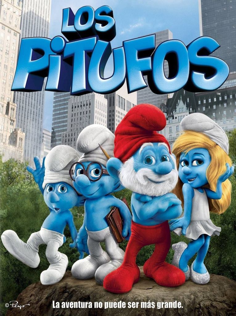 Los pitufos (2011) HD 1080p Latino