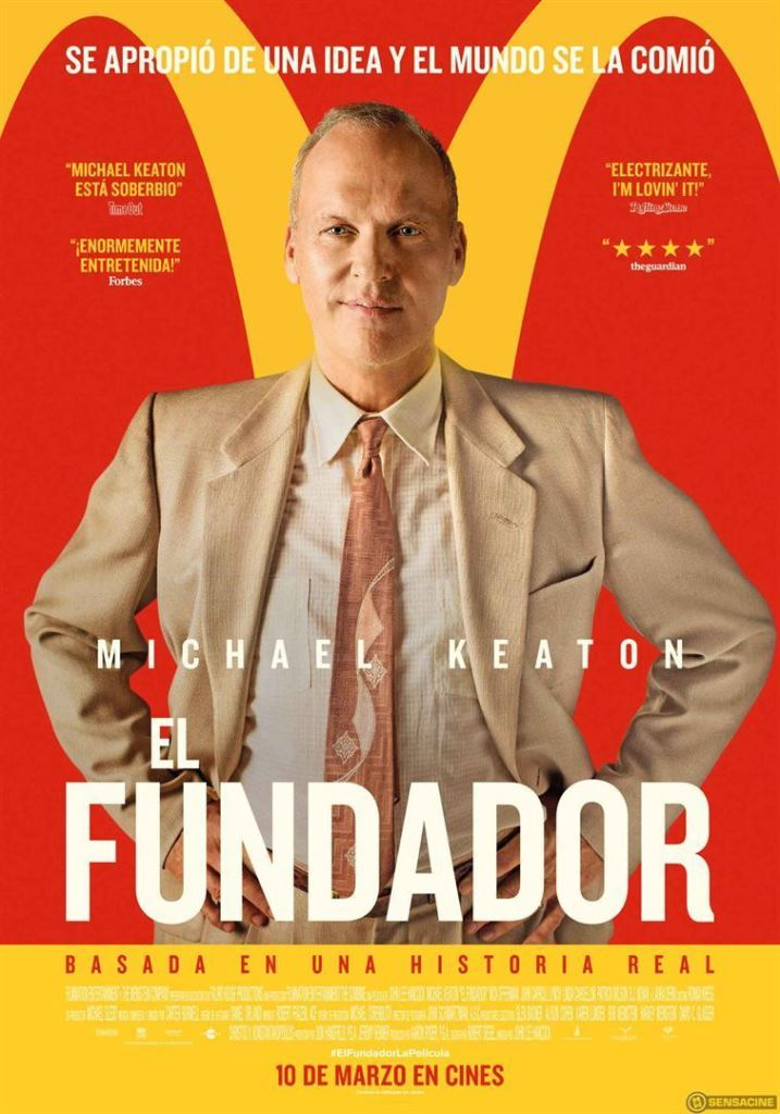 El fundador (2016) HD 1080p Latino