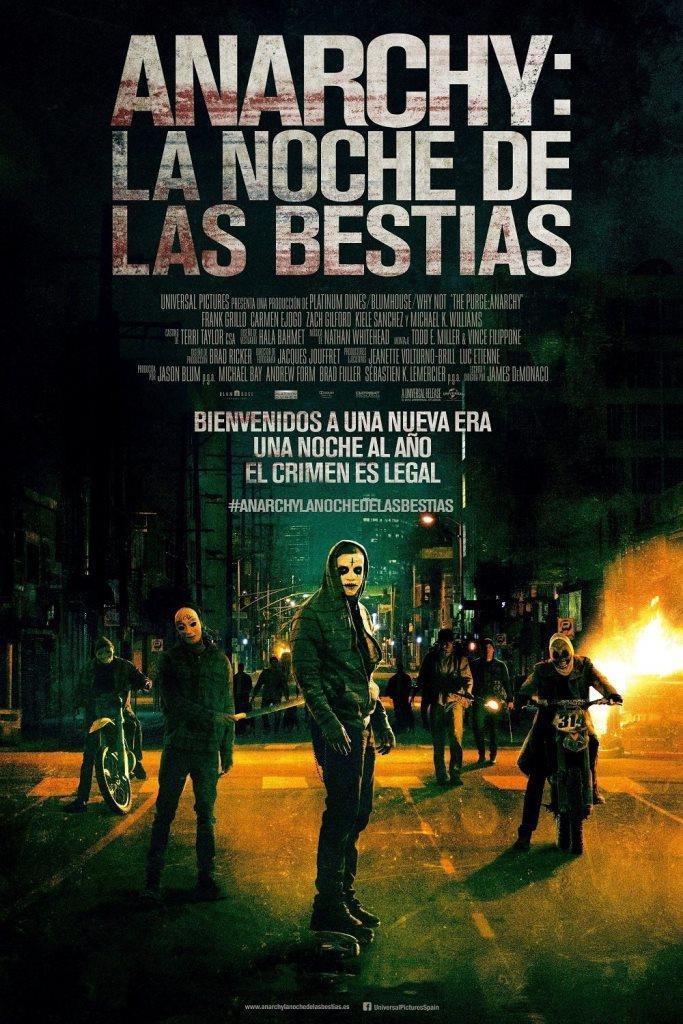 Anarchy: La noche de las bestias (2014) HD 1080p Latino