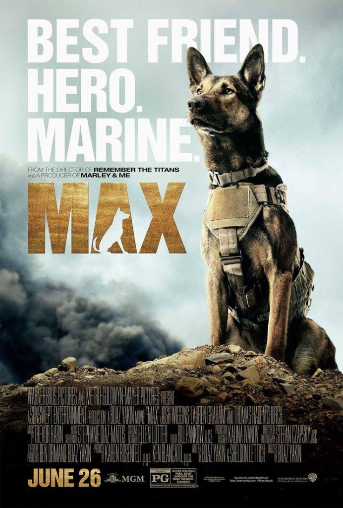 Max: Mi héroe y amigo (2015) HD 1080p Latino
