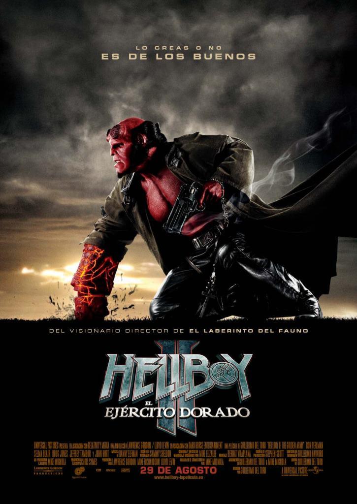Hellboy 2: El ejército dorado (2008) HD 1080p Latino