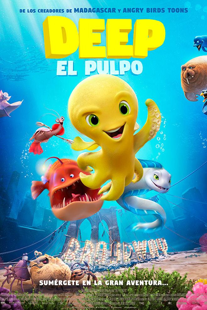 Deep, el pulpo (2017) HD 1080p Latino