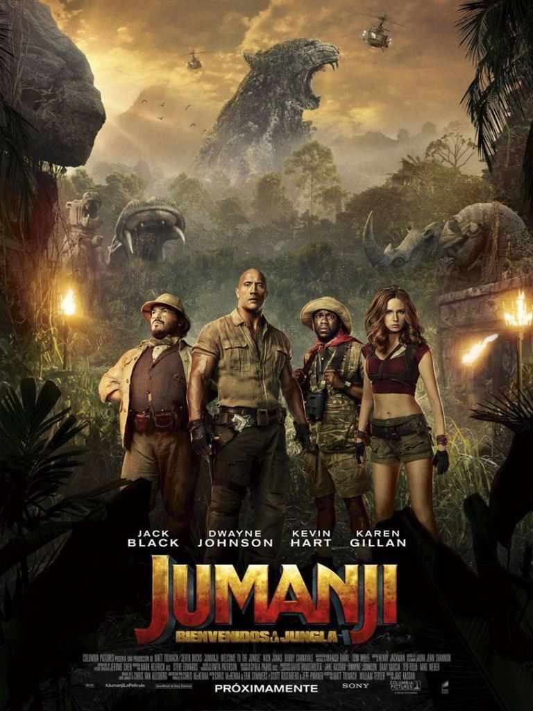 Jumanji: Bienvenidos a la jungla (2017) HD 1080p Castellano