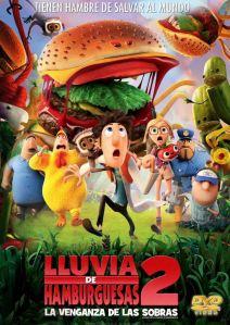 Lluvia de hamburguesas 2 (2013) HD 1080p Latino