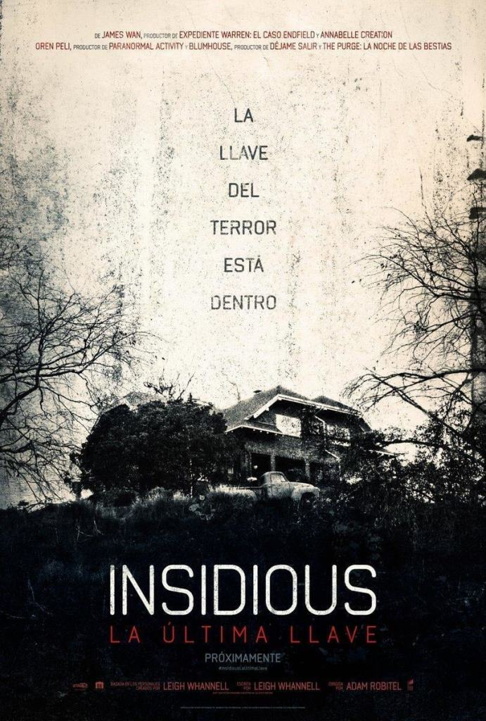 Insidious: La última llave (2018) HD 1080p Latino