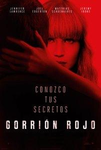 Gorrión rojo (2018) HD 1080p Latino