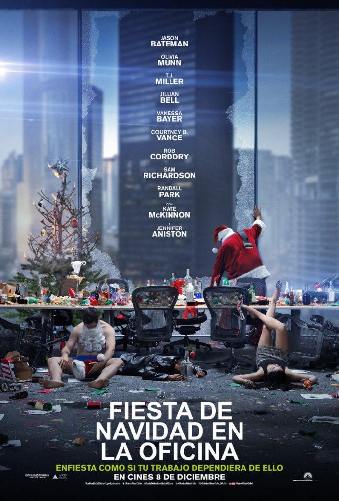 Fiesta de Navidad en la Oficina (2017) HD 1080p Latino
