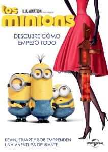 Los minions (2015) HD 1080p Latino