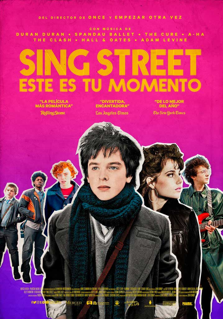 Sing Street: este es tu momento (2016) HD 1080p Latino