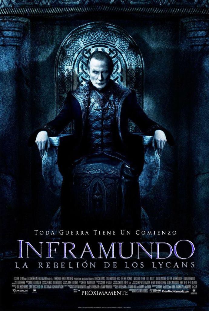 Inframundo 3: La rebelión de los licántropos (2009) HD 1080p Latino