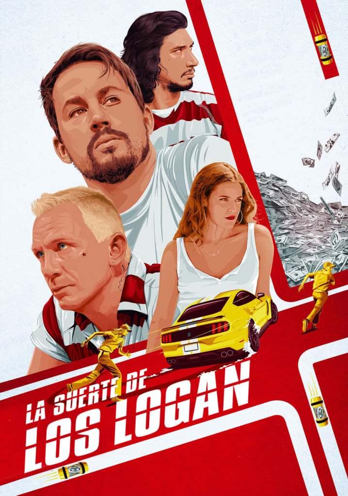 La suerte de los Logan (2017) HD 1080p Latino