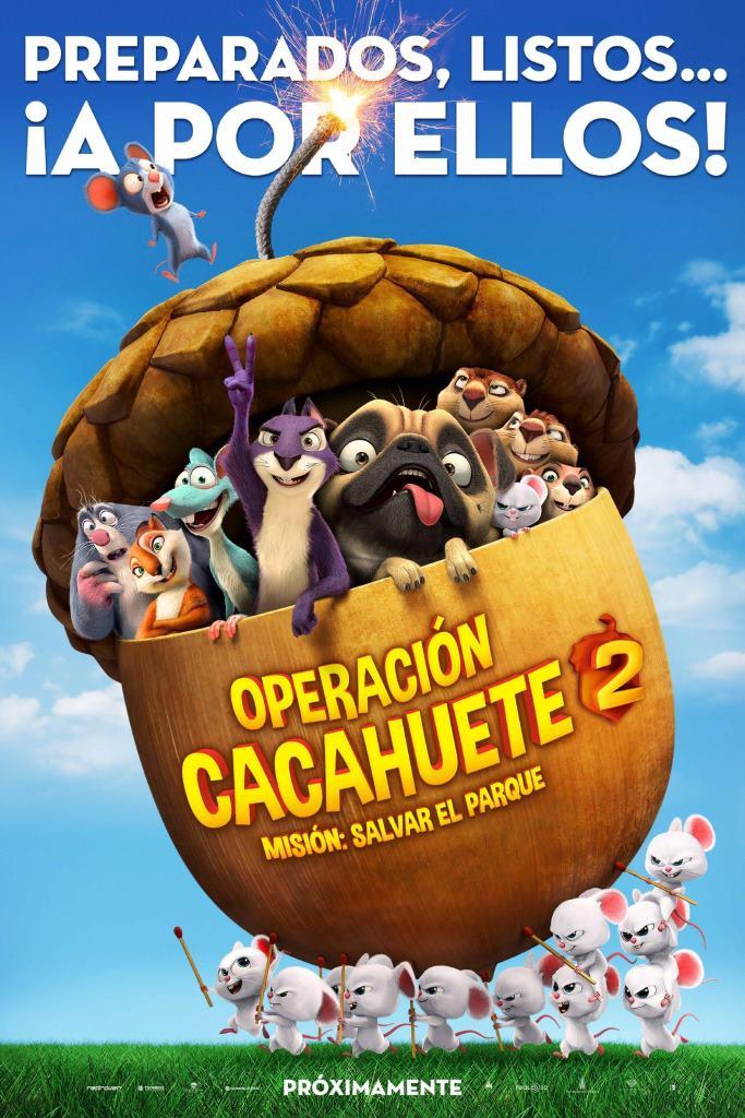 Operación Cacahuete 2. Misión: Salvar el parque (2014) HD 1080p Latino