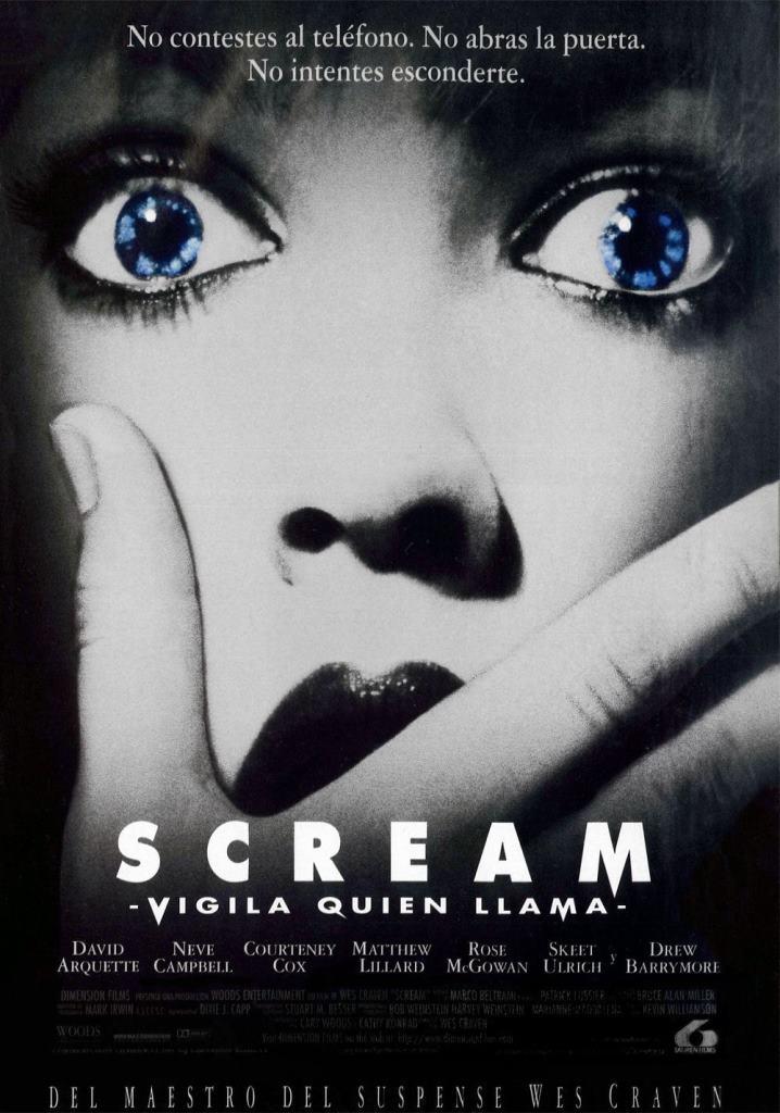 Scream: Vigila quién llama (1996) HD 1080p Latino