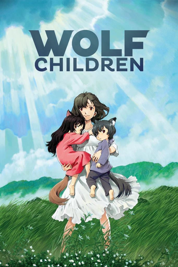 Los niños lobo Ame y Yuki