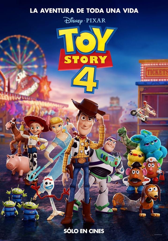 Toy Story 4 (2019) HD 1080p Subtitulado Ingles
