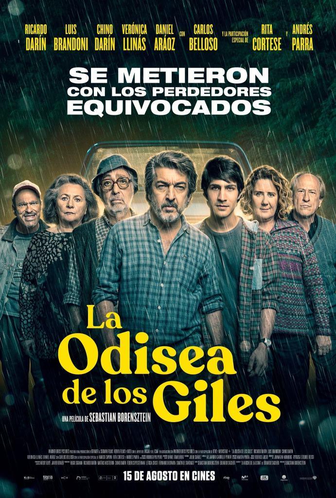 La odisea de los giles (2019) HD 1080p Latino