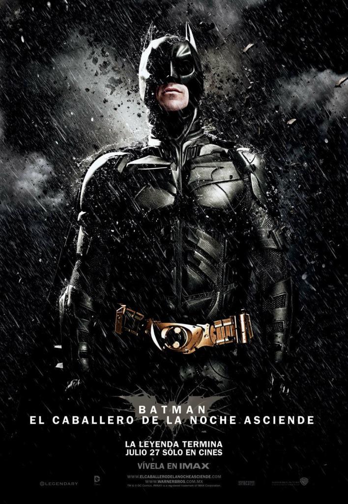 Batman El caballero de la noche asciende (2012) HD 1080p Latino
