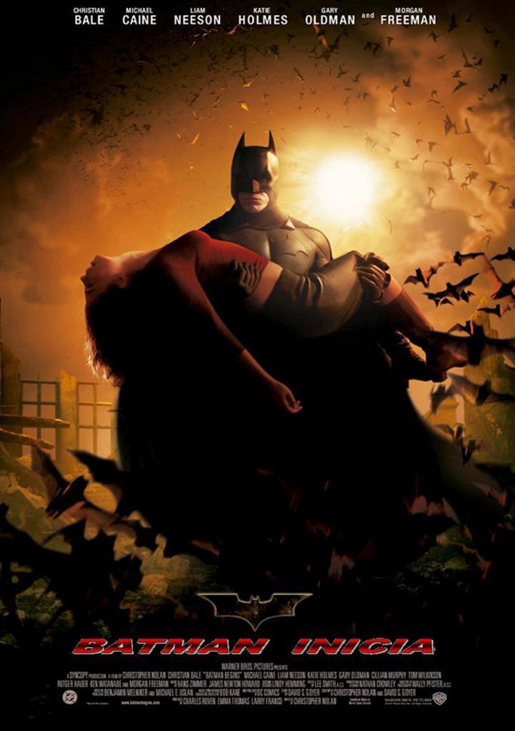 Batman Inicia (2005) HD 1080p Latino